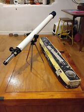 Vintage Tasco 4VTE 50x Asteroid Refractor Telescope With Tripod In Box