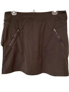 ATHLETA Sport Skort Skirt Heather Gray Women's M Medium Pockets *FREE SHIP*