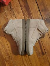 outlet store 42c85 562b3 Nike X APC Dunk High - sz10.5 - Hay Beige Tan Suede (607543