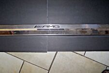 mercedes amg sill plate cover strip used original 1 small dent 463-680-65-01