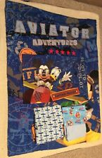 Disney Mickey Mouse Aviator Adventures Airplane Toddler Bedding 6pcs