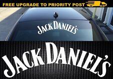 Jack Daniels Whiskey logo Car 4x4 Sticker 500mm wide