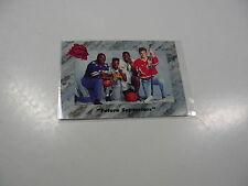 B Taylor/L Johnson/E Lindros/R Maryland 1991 Classic Future Superstars card #1