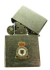 RAF ROYAL AIR FORCE FIGHTER COMMAND WINDPROOF CHROME PLATED LIGHTER