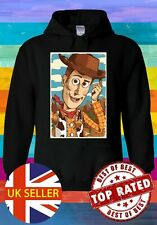 Disney Toy Story's 4 Woody Vintage Hoodie Novelty Pullover Men Women Unisex V2