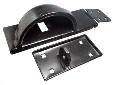 2 Set Fermaglio & Fiocco H/D + Lucchetto Barra Sicurezza Protezione RH mano destra