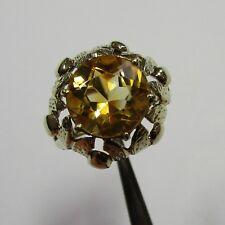 679 - Dekorativer Ring aus Gelbgold 585 mit Citrin - 2462/17