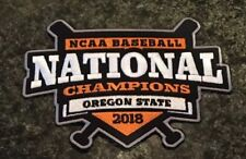 brand new b936a 1280f Oregon State Beavers OSU Baseball Jersey National Champions Patch 2018 CWS  NCAA