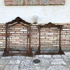 Vecchia cornice per quadro specchio vintage barocchetto veneziano legno resina