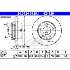 Bremsscheibe 24.0124-0129.1