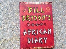 Bill Bryson African Diary by Bill Bryson (Hardback, 2002)