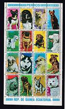 Guinea Ecuatorial 1974 - Honden/Dogs/Hunde