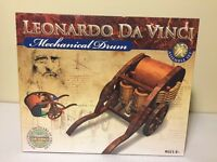 Leonardo Da Vinci Mechanical Drum Building Assemble Model Kit Game 3D Puzzle NEW