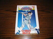 GEORGE BRETT - Baseball Superstars Comic Book!!  RARE!  Royals