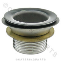 "WF03 STAINLESS STEEL 1-1/2"" COMMERCIAL SINK WASTE FITTING FOR OVERFLOW PLUG WF3"