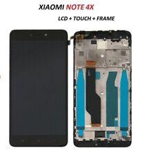 LCD PER XIAOMI REDMI NOTE 4 4X Global FRAME NERO TOUCH SCREEN VETRO NUOVO