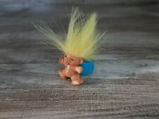 Cool Vintage Troll Ring Neon Yellow Hair