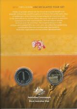 2012 'Fields of Gold'  20c & $1 Australian Wheat Two Coin Uncirculated Set