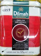 Pure Ceylon BLACK Tea  ENGLISH BREAKFAST AFTERNOON EARL GREY Loose LEAF 125g Tin