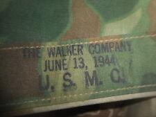 U.S.ARMY: WWII 1944* U.S.MARINES,PONCHO,CAMOUFLAGE SHELTER 1944  WWII
