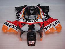 Fit for HONDA 1996-1997 CBR893RR CBR900RR Orange Red Bodywork Fairing e0A3