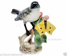 Goebel Porzellan-Tiere mit Vögel-Motiv