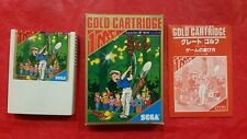 Sega GREAT GOLF Mark III Japan CIB 1986 Master System COMPLETE