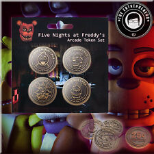 Five Nights at Freddy's Arcade Token Set USA FAST FREE SAME DAY SHIPPING!