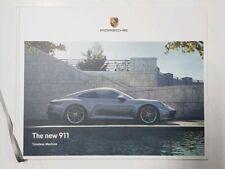 "Official Original PORSCHE ""The new 911- Timeless Machine"" Hardcover book New"