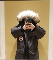 NEW 2019 GREY LABEL LATEST CONCEPT BLACK CANADA GOOSE EXPEDITION XL PARKA JACKET