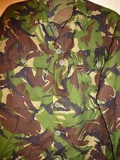UK Forces DP Woodland pattern lightweight combat shirt/jacket (size 180/104)