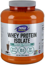 NOW Sports Nutrition, Whey Protein Isolate, Creamy Chocolate ( 5lb bag )