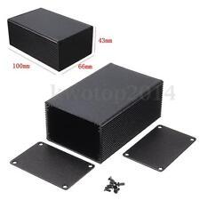100x66x43mm Aluminum Electronic Box Instrument Meter Enclosure Case Project DIY
