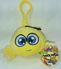 "New With Tags 2006 Neopets Yellow Kiko Mini Plush Doll Toy 2.25"" Body Snaptoys"