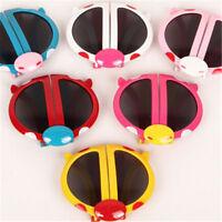 Novelty Baby Kids Boys Girls Foldable Cute ladybug Sunglasses Goggles Gift VGCA