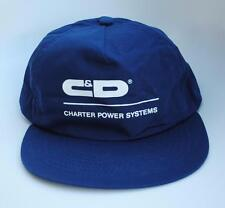 CHARTER POWER SYSTEMS C D Baseball Cap Hat One Size Snapback f928acac6abf
