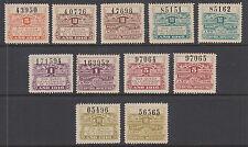 Argentina, Santa Fé, mint 1916 Comision de Fomento Fiscals, 11 Talon & Control