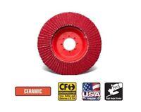 """CGW Camel Flap Discs Z-Poly Economy  4-1//2/"""" x 7//8/""""  40-grit Qty 10-41702"""