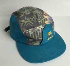 31ff640a83d The Official Crown of Laurel Leather Strap Adjustable Hat Cap Hawaiian Teal