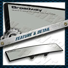 Broadway 240mm Wide Convex Universal Interior Clip On Rear View Clear Mirror