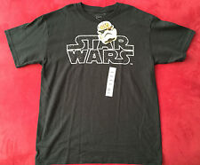NEW Children Star Wars T-shirts Black  Size M