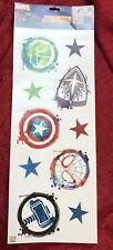 Marvel Avengers 10pc Wall Decals Sticker Decor Hulk Thor Spider-Man Captain
