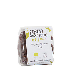 Forest Whole Foods - Organic Sun Dried Apricots  (Free UK Delivery) 250g