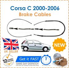 For Vauxhall Corsa C 1.0 1.2 1.3 CDTi 2000-2006 Hand Brake Cables 4 Cables New