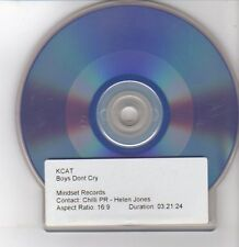 (DQ167) Kcat, Boys Don't Cry - DJ DVD