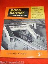 MODEL RAILWAY CONSTRUCTOR - COLNE VALLEY RAILWAY - MARCH 1962