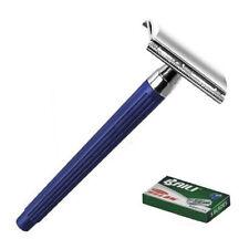 Baili ®- Blue Diamond Double Edge Razor Safety Razor All Razor Blades Gift