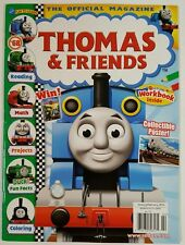 Thomas & Friends Official Magazine Poster Workbook Jan Feb 2016 FREE SHIPPING JB