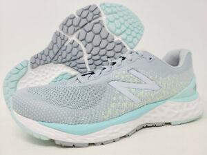 New Balance Women's 880 v10 Running Shoes, Light Slate/Bali Blue, 10.5 B(M) US