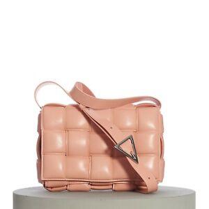 BOTTEGA VENETA 2990$ Padded Cassette Crossbody Bag In Maxi Weave Nappa Leather